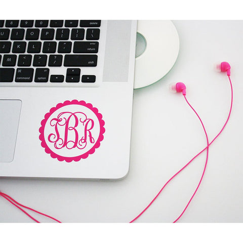 Initial Monogram Decal - Heidisonline