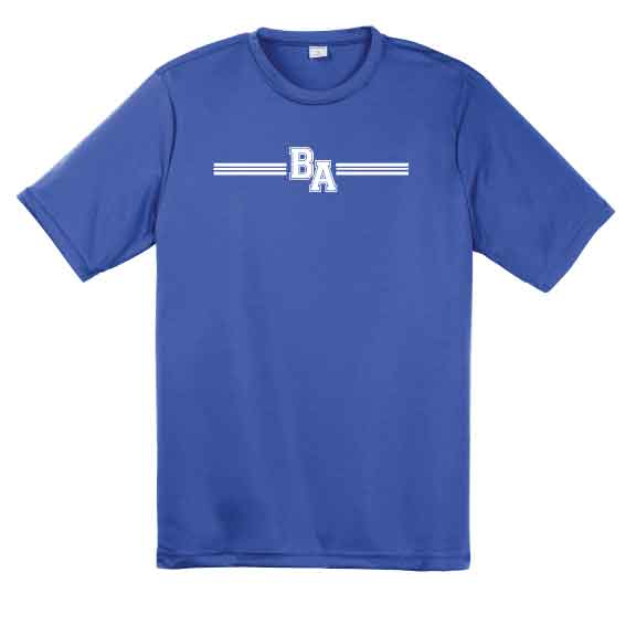BA Stripe Dri-Fit Tee