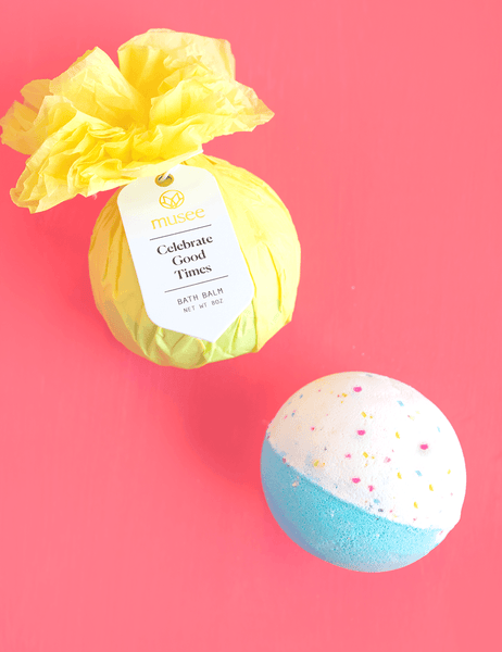 Celebrate the Good Times Bath bomb