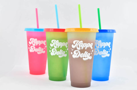 KD Color Changing Cups sET