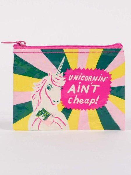 unicorn' aint cheap coin purse