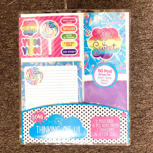 Life is Sweet Stationary Set