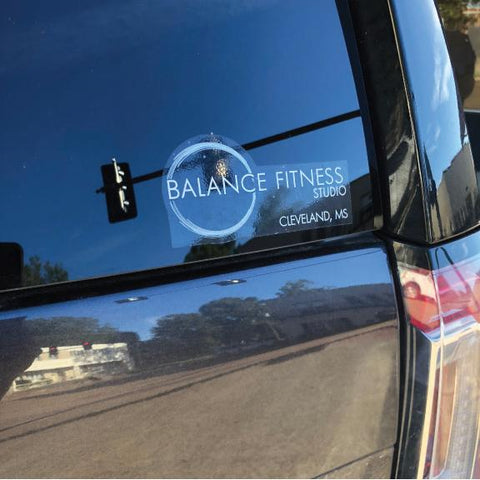 Balance Fitness Studio Decal