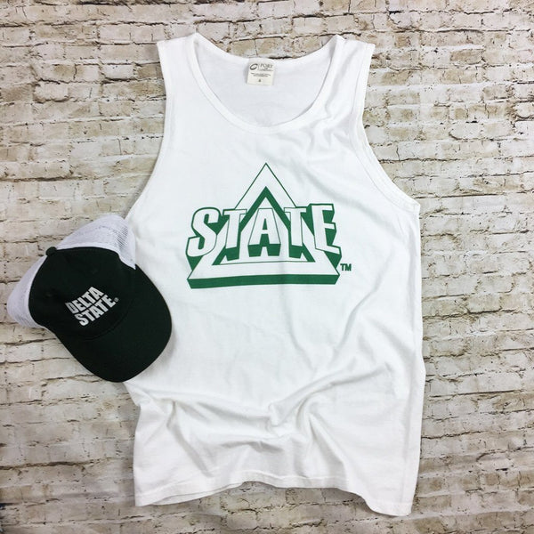 DSU Triangle Logo Tank Top