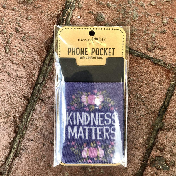 kindness matters phone pouch