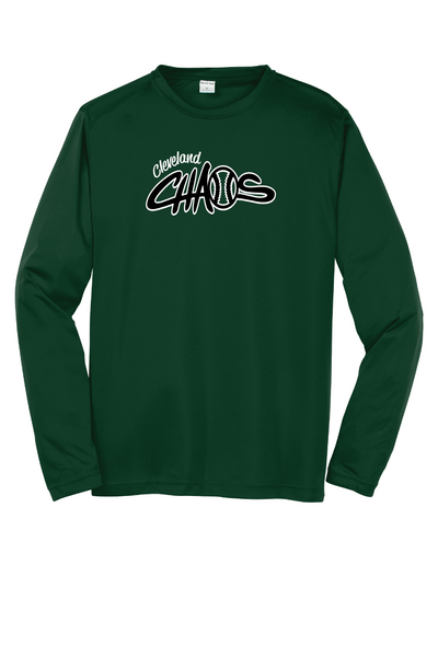 green long sleeve dri fit cleveland chaos