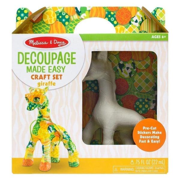 Melissa & Doug Decoupage Made Easy Giraffe