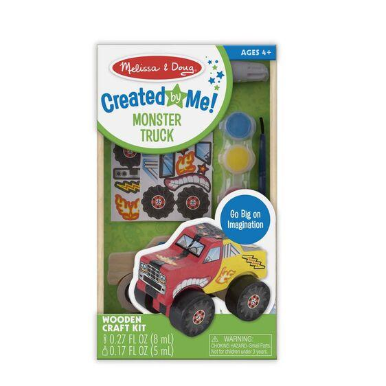 Melissa & Doug Created By Me Monster Truck
