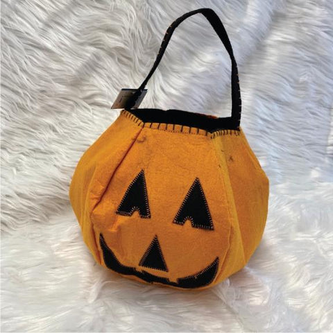 orange pumpkin goodie bag