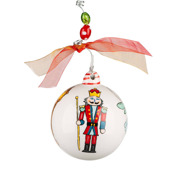 nutcracker story ornament