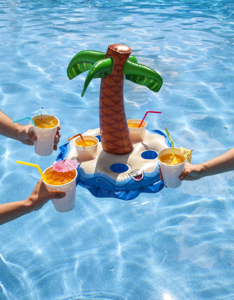 Palm Tree Beverage Float