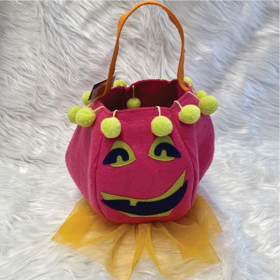 pink pumpkin goodie bag