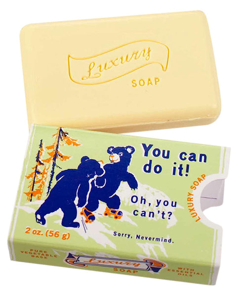 You can do it soap