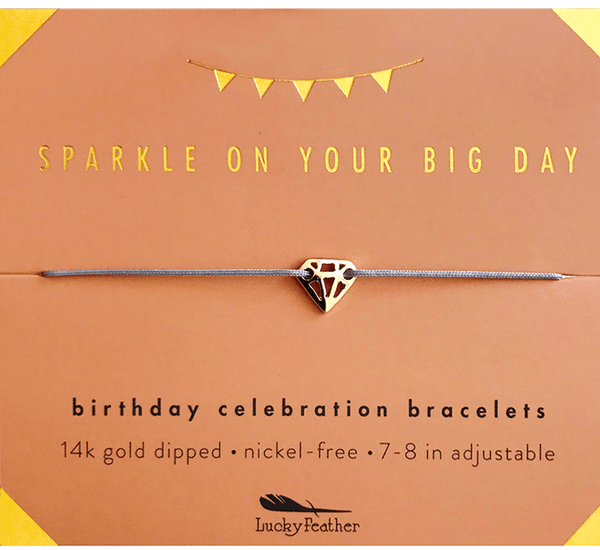Sparkle on you big day bracelet