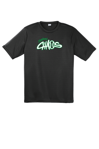 black short sleeve dry fit cleveland chaos