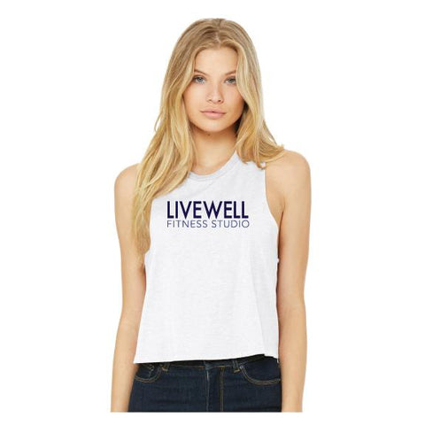Livewell Cropped Muscle Tank