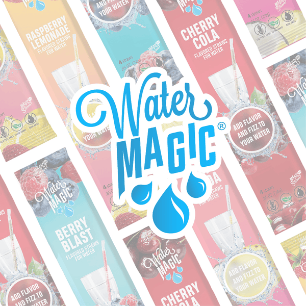Water Magic Straws