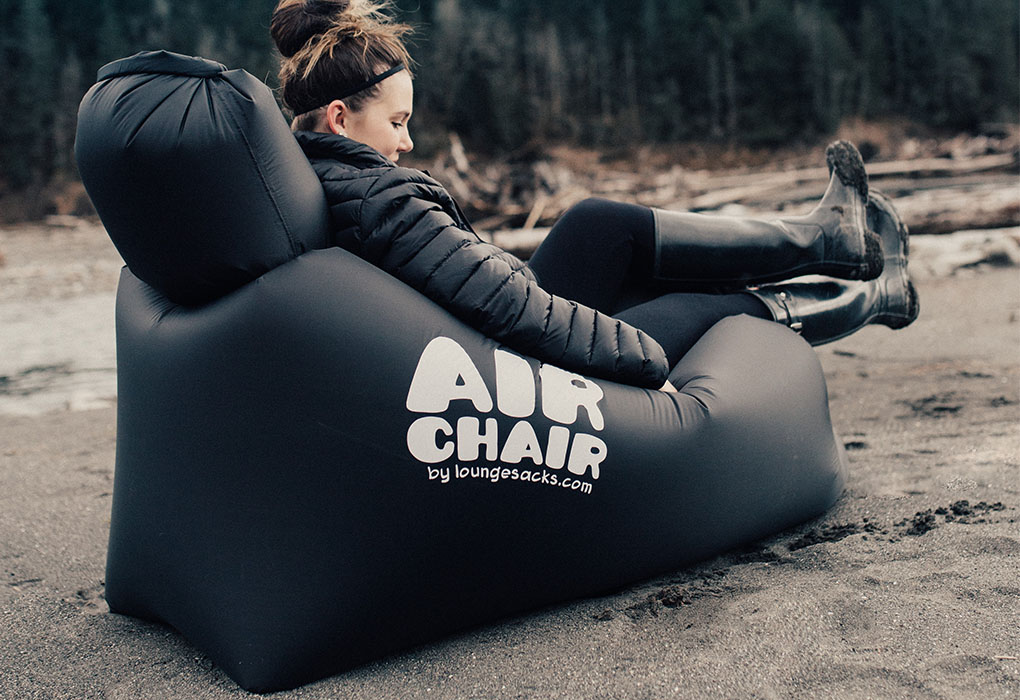 Air Chair Loves All Surfaces