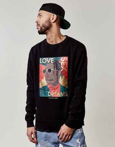 C&S WL DREAM$ CREWNECK
