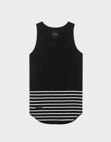 C&S BL ON POINT SCALLOP TANKTOP