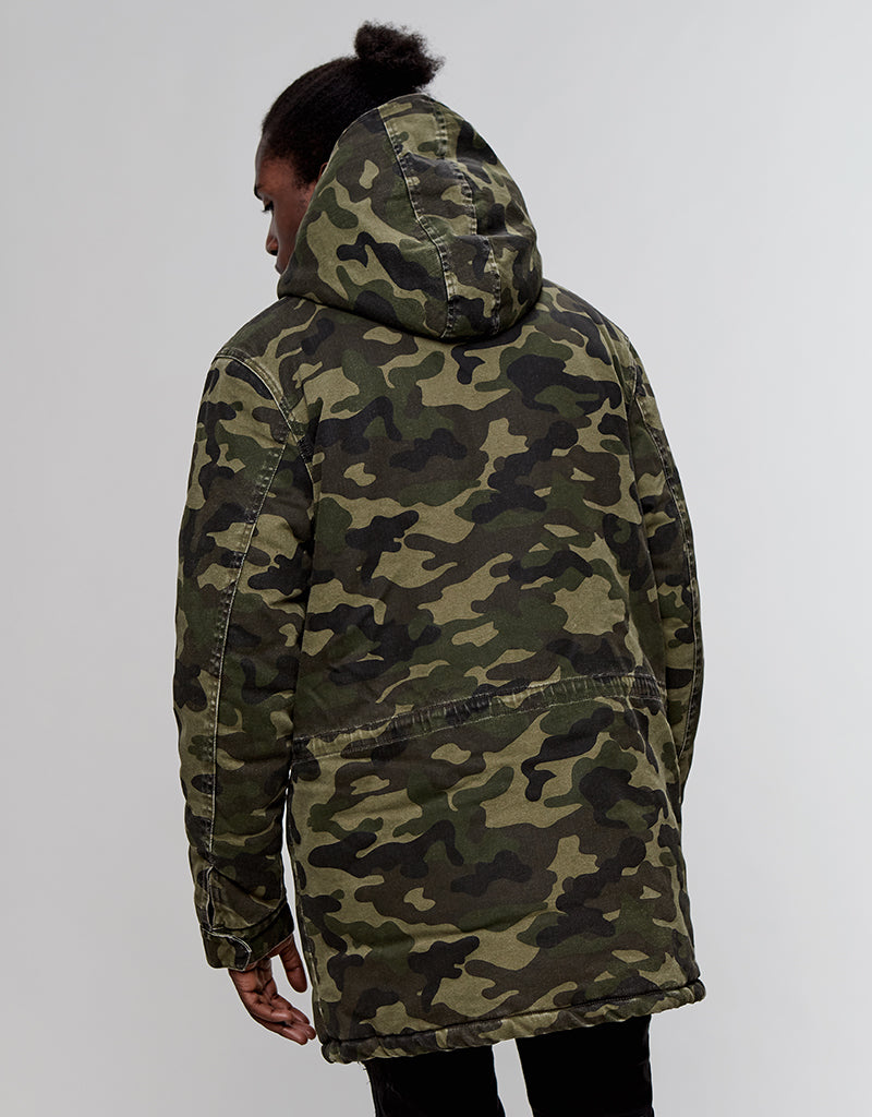 ALLDD DENIM PARKA