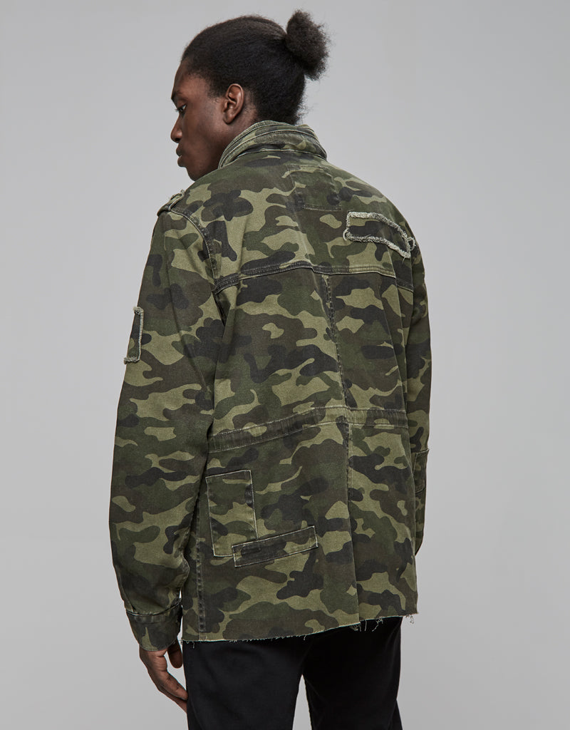ALLDD ARMY DENIM JACKET