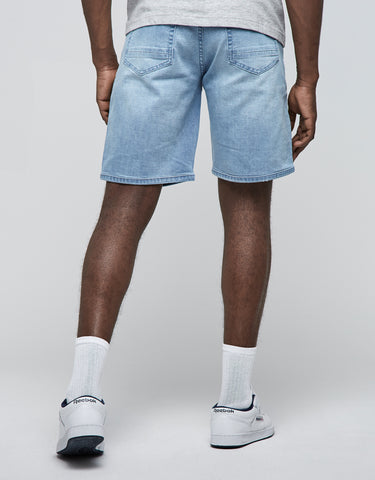 ALLDD BIKER SID DENIM SHORTS