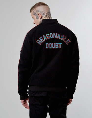CSBL A-LISTED RAGLAN VARSITY  JACKET
