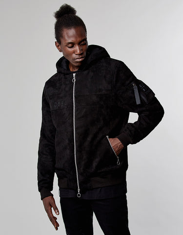 CSBL JAB HOODED BOMBER JACKET