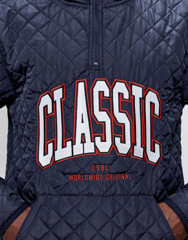 CSBL WORLDWIDE CLASSIC HALF ZIP JACKET