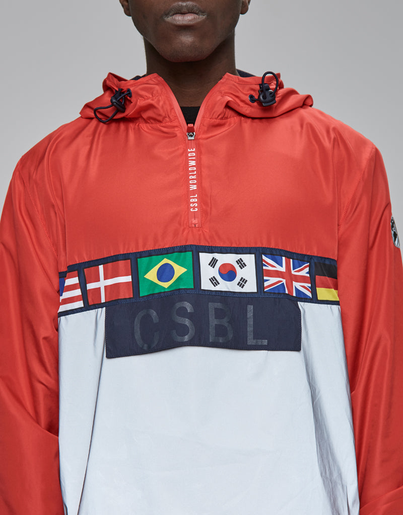 CSBL WORLDWIDE WINDBREAKER