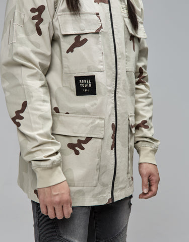 CSBL REBEL YOUTH ARMY JACKET