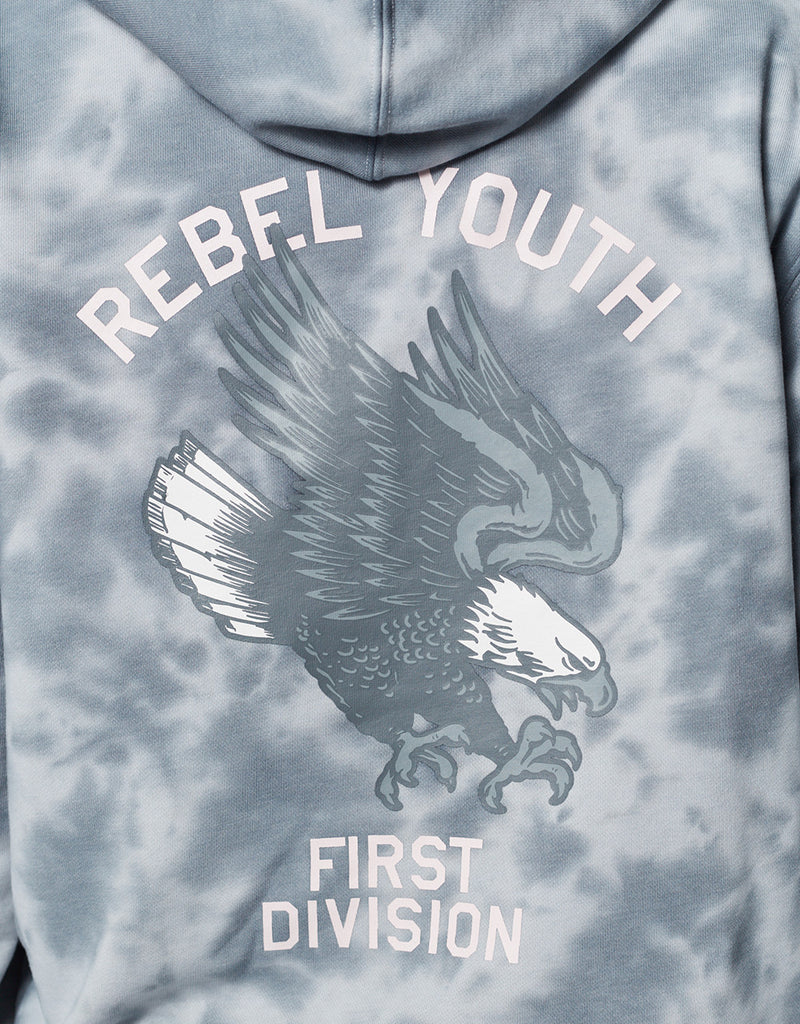 CSBL REBEL YOUTH TIE DYE HOODY