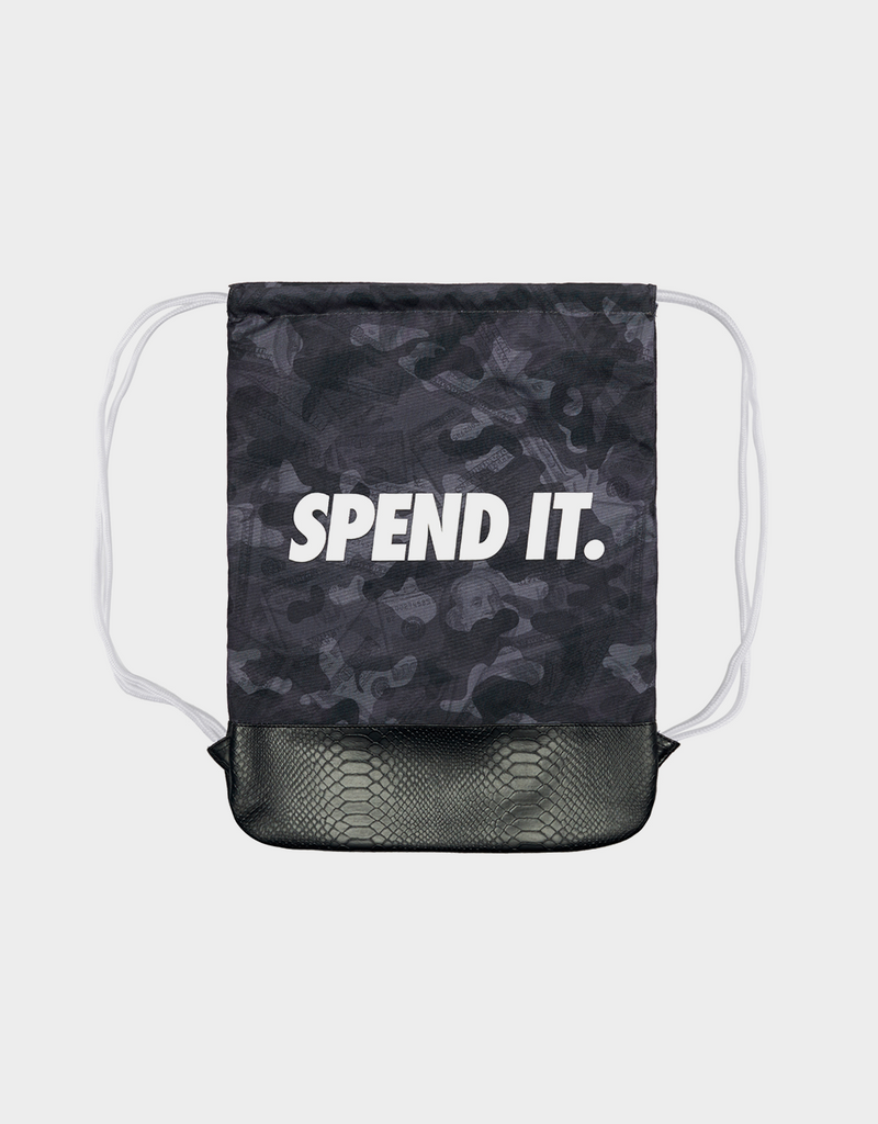 C&S WL SPEND IT GYMBAG