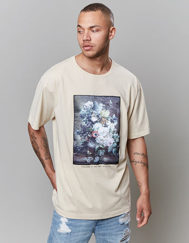 CSBL OFF BEAT OVERSIZED TEE