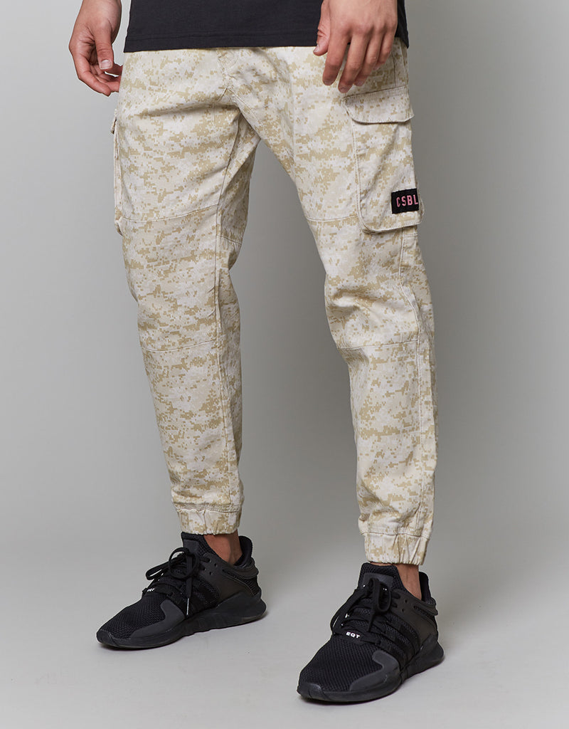CSBL DIG IT CROPPED CARGO JOGGER PANTS