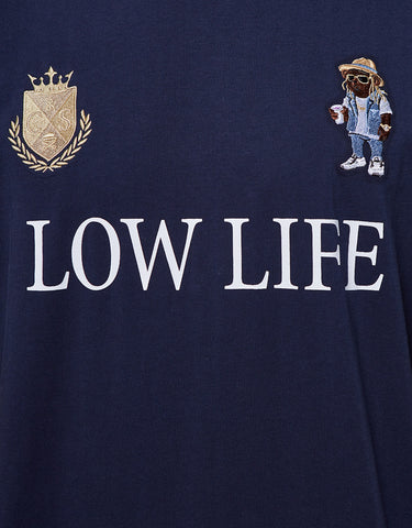 C&S WL LOW POLO TEE