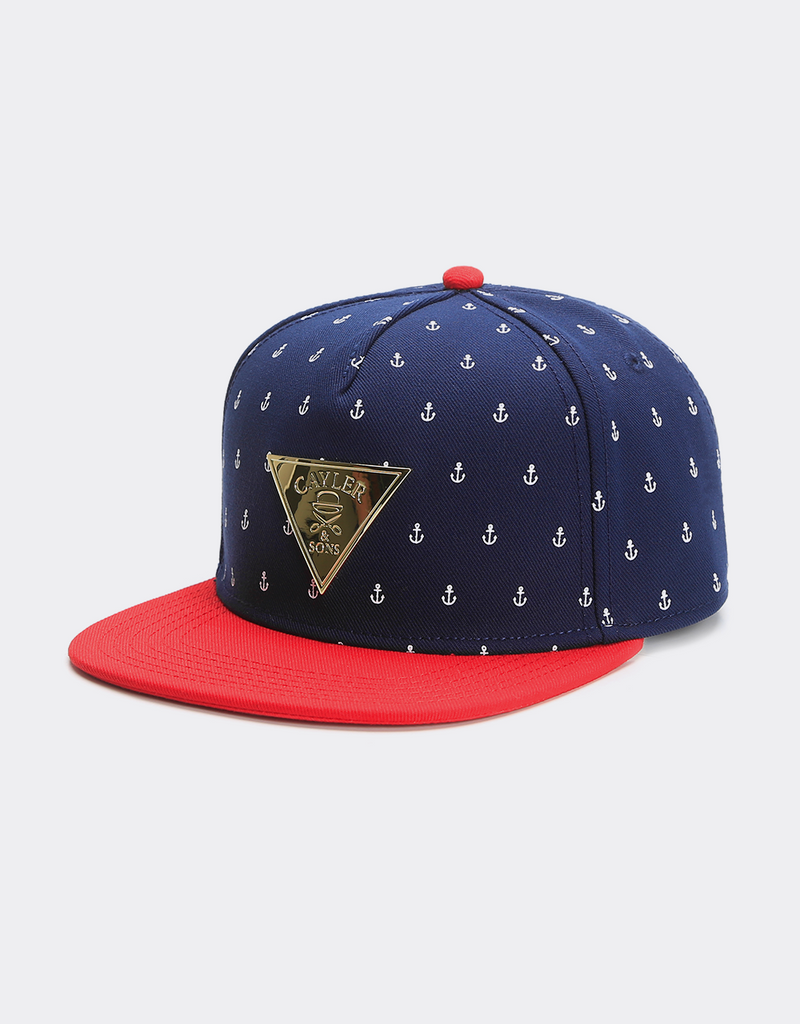 C&S GLD ANCHORMAN CAP