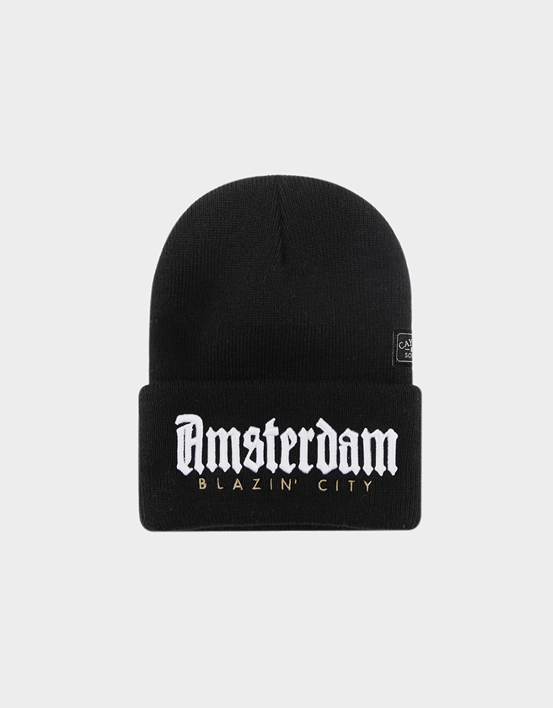 C&S WL AMSTERDAM OLD SCHOOL BEANIE