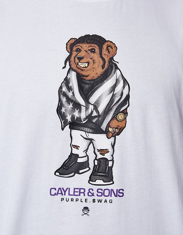 C&S WL PURPLE SWAG TEE