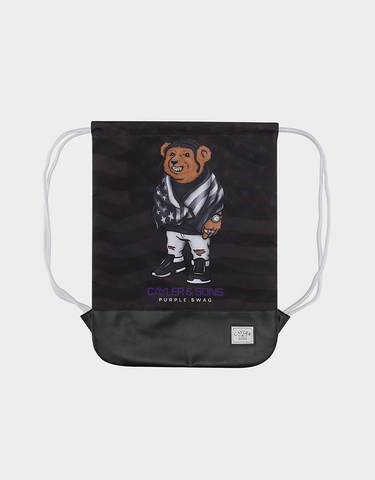 C&S WL PURPLE SWAG GYMBAG