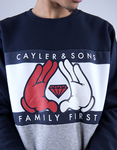 C&S WL FIRST CREWNECK