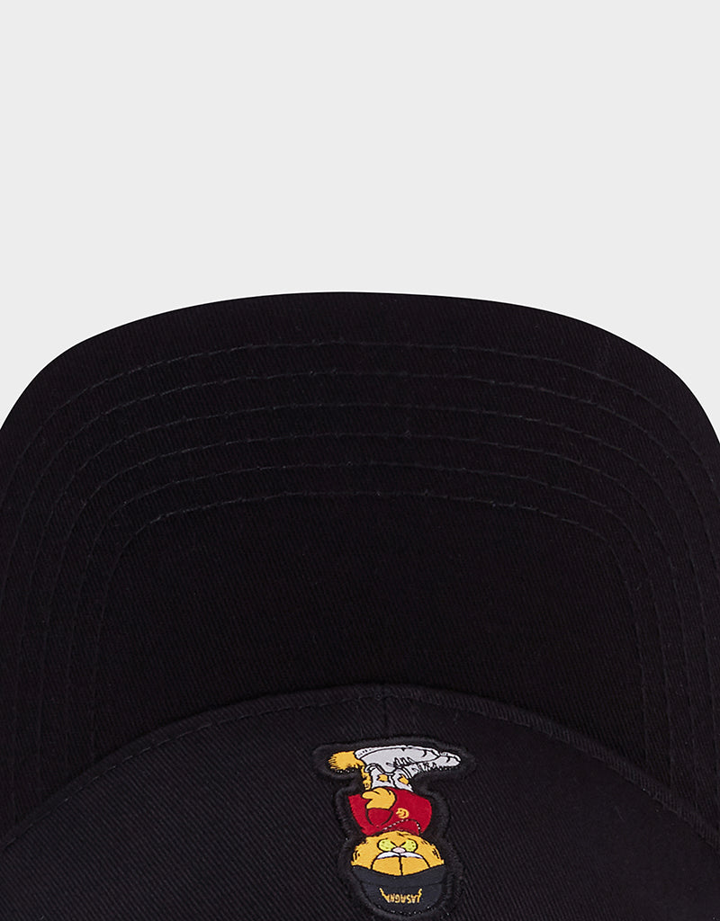 C&S WL MERCH GARFIELD CURVED CAP