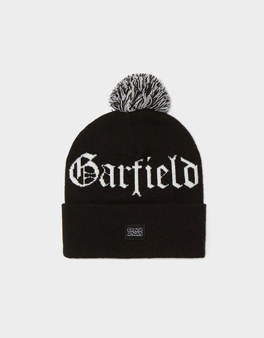 C&S WL LEFT SIDE GARFIELD POM POM BEANIE