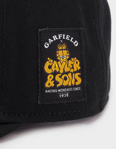 C&S WL NOT HAPPY GARFIELD CAP