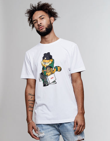 C&S WL HYPED GARFIELD TEE