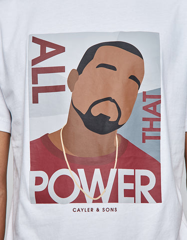 C&S WL POWER TEE