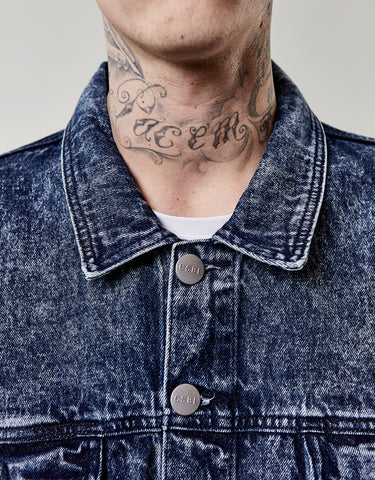 C&S ALLDD DENIM TRUCKER JACKET