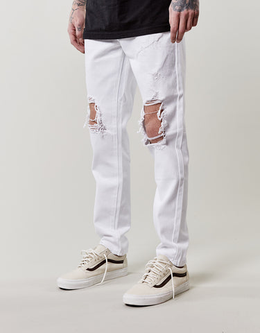 C&S ALLDD HEAVY CUT DENIM PANTS