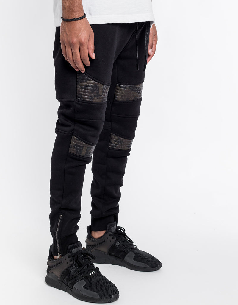 C&S BL MOTO SWEATPANTS